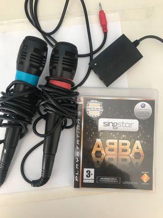 Micrófonos Singstar + ABBA