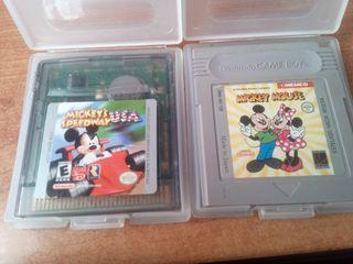 juegos Mickey para gameboy