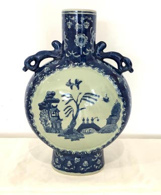 Espectacular jarrón chino antiguo