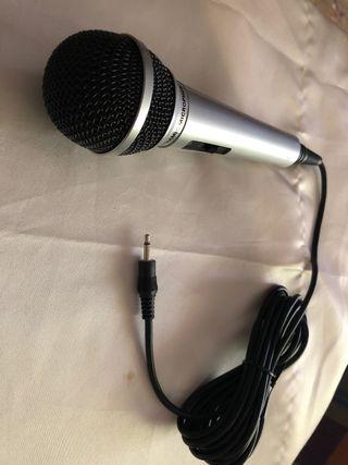 microfono externo sin probar
