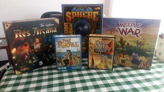 Vendo varios juegos de mesa y puzzles