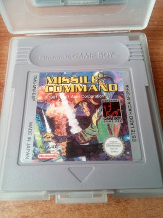 missile command para gameboy