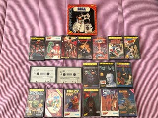 Lote videojuegos Spectrum