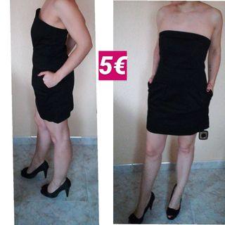 vestidos de eventos, zapatos de vestir y pantalón