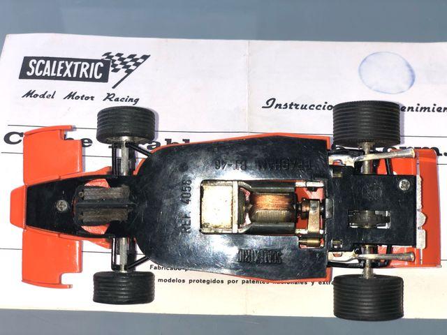 Coche slot Brabham BT46 de Scalextric ORIGINAL