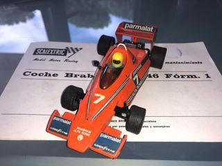 Coche slot Brabham de Scalextric