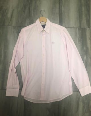 Camisa rosa vespa