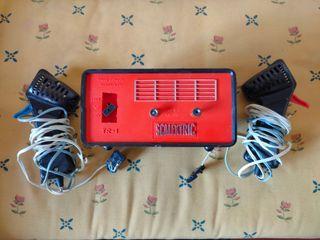 Transformador Scalextric con dos mandos