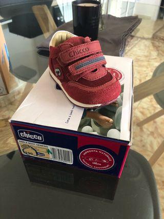 Zapatillas chicco talla 19