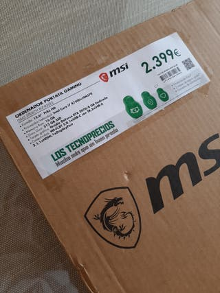 PORTATIL MSI GS65