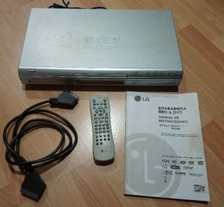 Reproductor grabador HDD DVD LG
