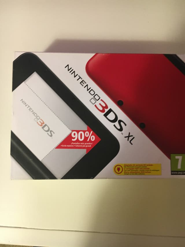 Nintendo 3Ds xo roja