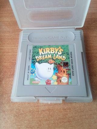 kirby dream land para gameboy