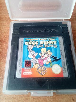 Bugs Bunny para gameboy