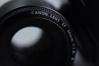 Objetivo Canon 50 mm1/8 II