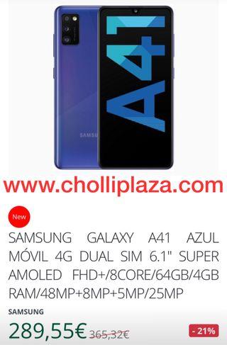 SAMSUNG GALAXY A41 AZUL DUAL SIM