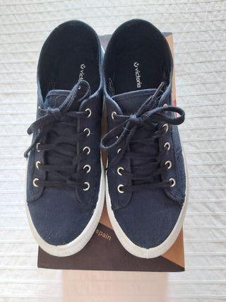 Sneakers Victoria azules