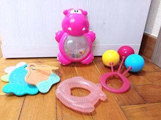 Lote juguetes bebé.