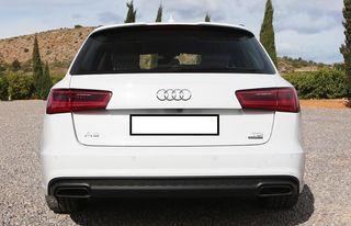 Difusor trasero Audi A6 C7 Avant S-Line Facelift