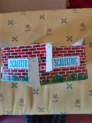 Soporte puente Scalextric
