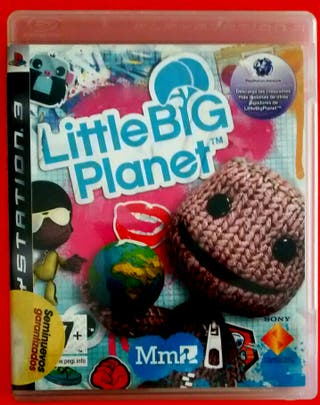juego PS3 Little Big Planet