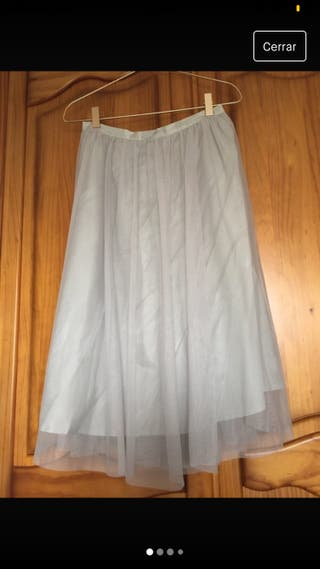 Falda de tul Zara