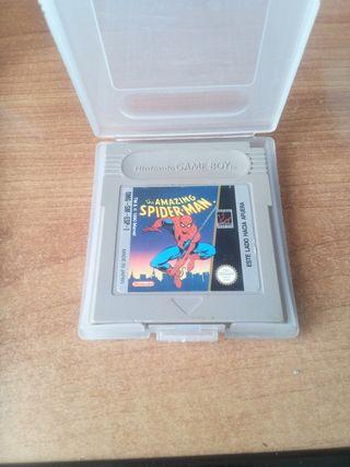 juego Spiderman para Gameboy