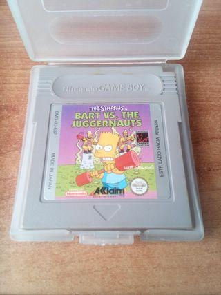 Bart Simpson para gameboy