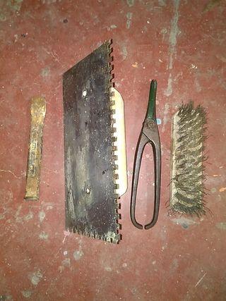 llana dentada tijera corta chapa y otros