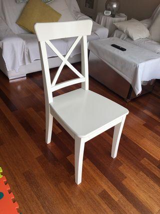 4 sillas Ikea mod. Ingolf