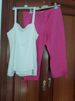 Conjunto pantalón y bluson