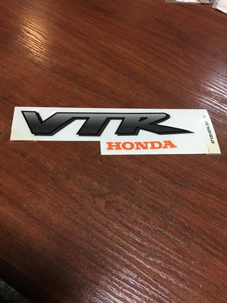 Pegatina adhesivo Honda VTR 250
