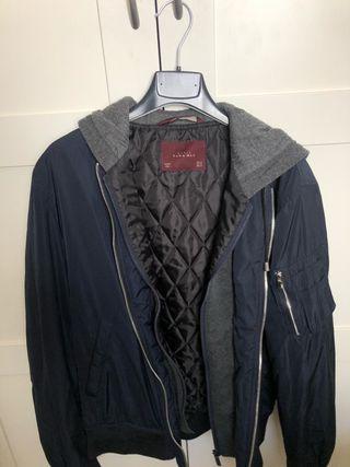 chaqueta hombre capucha