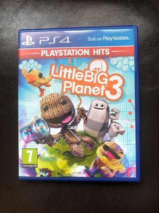 Little Big Planet 3 PS4 Como Nuevo