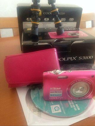 Camara Nikon Coolpix S3100