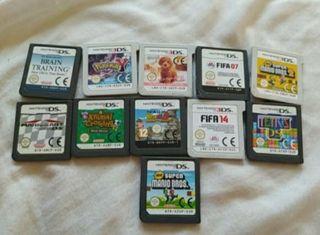 varios juegos nintendo ds 2ds 3ds