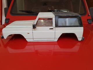 Maqueta Nissan Patrol