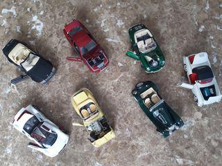Maquetas coches 1/18. Porche, Mercedes, Audi, BMW.