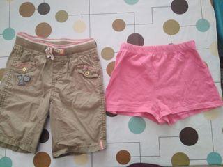 Pantalones cortos niña 18 meses