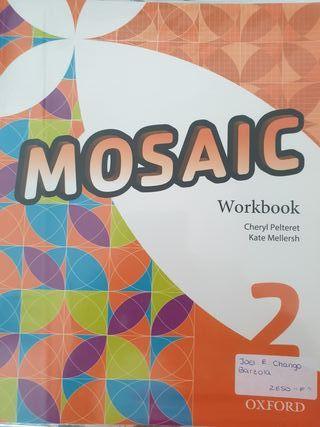 WORKBOOK y STUDENT LIBRO DE INGLES 2 ESO MOSAIC
