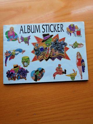 album de pegatinas stickers