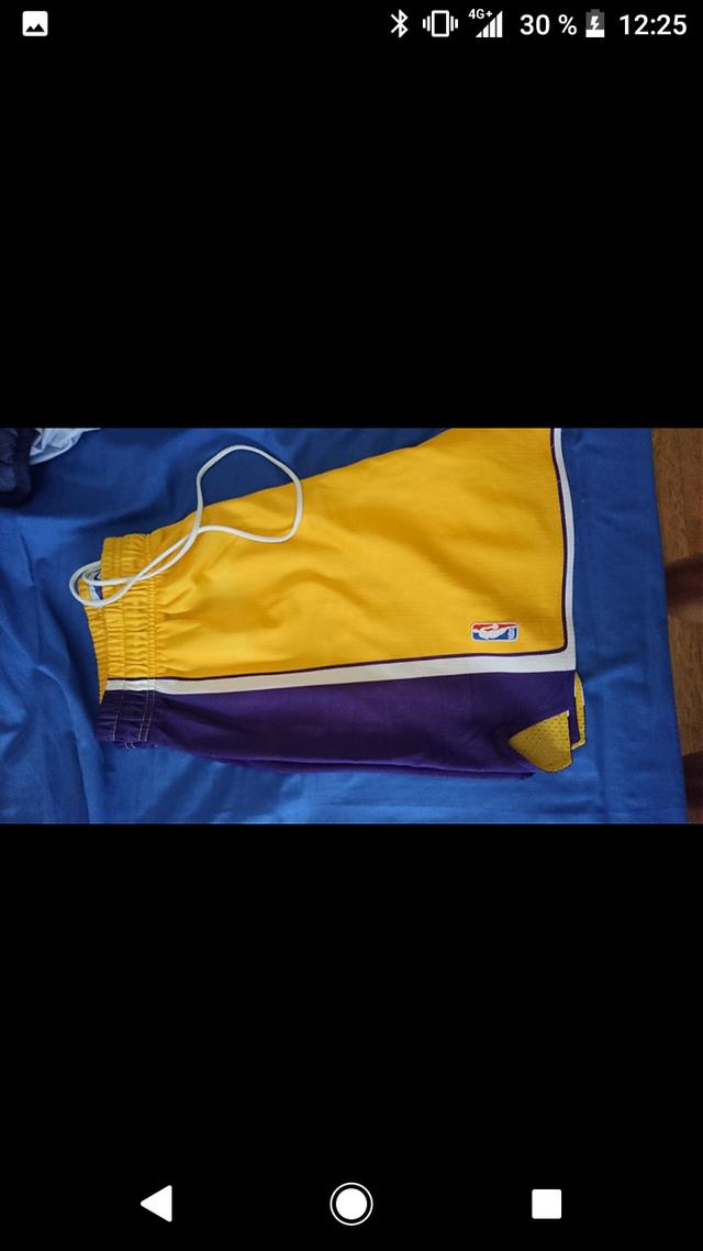 pantalón nba Lakers marca champion baloncesto L