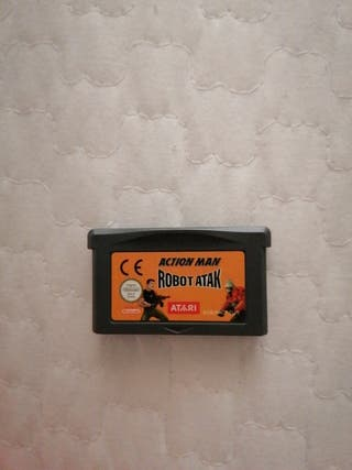 Action Man Robot Attack Game Boy Advance