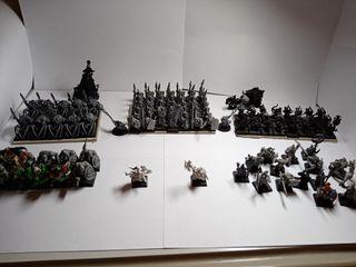 Warhammer fantasy Horda Orcos y Goblins