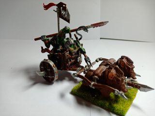 Warhammer fantasy Carro de Jabalís PINTADO