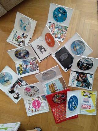 PACK de 12 videojuegos de Wii