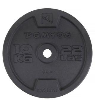 Discos de 10 kilos pesas domyos 28 mm