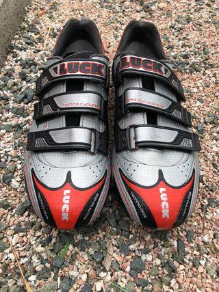 Zapatillas de Ciclismo LUCK carbono