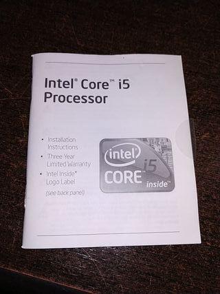procesador Intel i5 650 3.2ghz. box socket 1156.