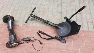 Patinete eléctrico con silla